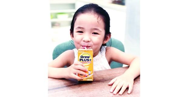 Sữa GrowPlus+ rất được  các bé yêu thích