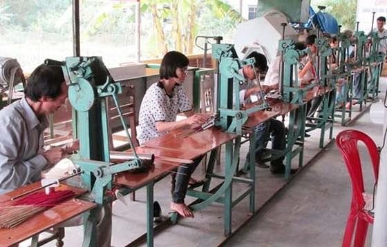 Một cơ sở hỗ trợ người khuyết tật sản xuất thuộc Hội bảo trợ người khuyết tật Thừa Thiên- Huế