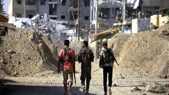Thành phố Raqqa đã bị SDF áp đặt lệnh giới nghiêm kéo dài 3 ngày và ban bố tình trạng khẩn cấp