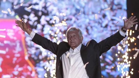 Ứng cử viên cánh tả Andres Manuel Lopez Obrador. Nguồn: EPA/TTXVN