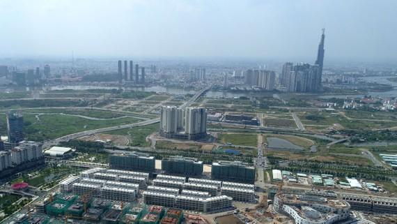 TPHCM cần nguồn lực để phát triển hạ tầng đô thị. Ảnh: VIỆT DŨNG