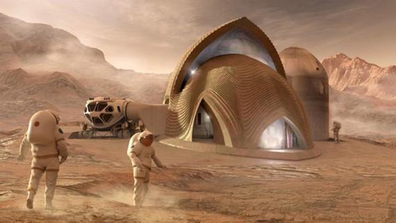 Dự án chung cư trên sao Hỏa