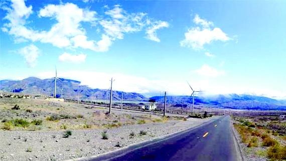 Iran khánh thành công viên điện gió 100 triệu USD