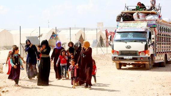 Người dân Syria tháo chạy khỏi Idlib do lo sợ chiến tranh