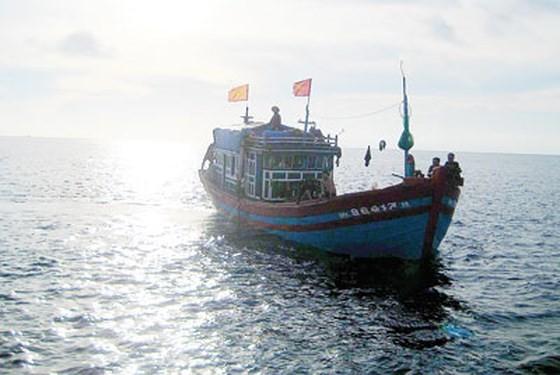 Tàu cá của Việt Nam hoạt động tại khu vực đặc quyền kinh tế Việt Nam trên biển Đông