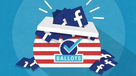 Facebook sàng lọc các yếu tố tác động chính trị