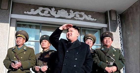 Lãnh đạo Triều Tiên Kim Jong-un. Ảnh: KCNA