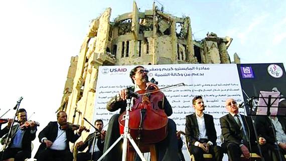 Âm nhạc đã vang lên ở thành phố Mosul có bề dày về văn hóa và nghệ thuật