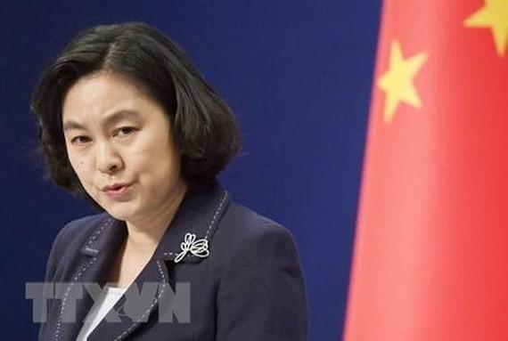Người phát ngôn Bộ Ngoại giao Trung Quốc Hoa Xuân Oánh