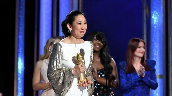 Sandra Oh - ngôi sao gốc Hàn Quốc được vinh danh đêm trao giải  (goldenglobes.com)