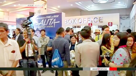Liên hoan phim Nhật Bản hút khán giả ở Myamar