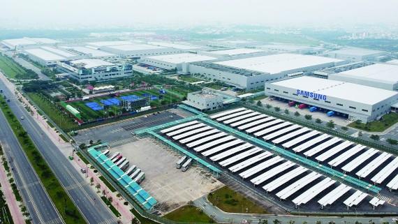 Tổ hợp Samsung CE Complex (SEHC) hoạt động tại Khu Công nghệ cao TPHCM. Ảnh:  CAO THĂNG