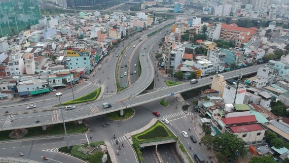 Đường Nguyễn Hữu Cảnh sẽ được sửa chữa, nâng cấp    Ảnh: CAO THĂNG