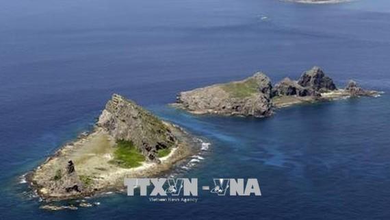 Quần đảo tranh chấp giữa Nhật Bản và Trung Quốc. Ảnh: Kyodo/TTXVN