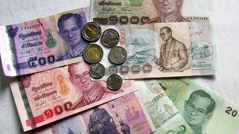 Đồng baht của Thái Lan tăng giá nhanh nhất châu Á