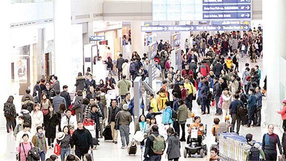 Người Hàn Quốc lập kỷ lục mới du lịch nước ngoài