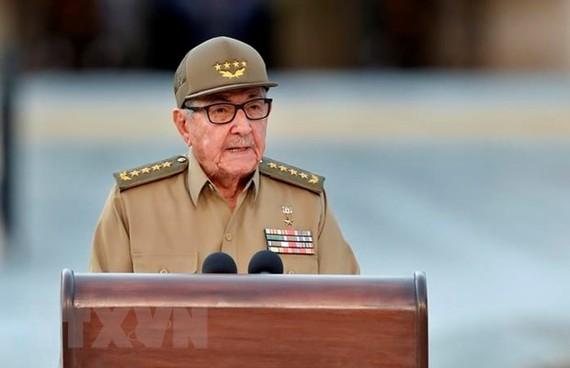 Bí thư thứ nhất Ban Chấp hành Trung ương Đảng Cộng sản Cuba Raul Castro. Ảnh: AFP/TTXVN