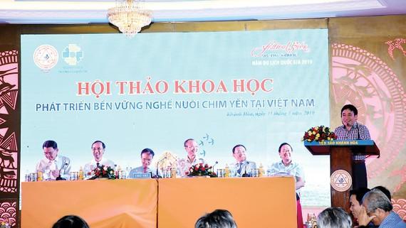 Phát triển bền vững nghề nuôi chim yến tại Việt Nam