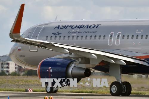 Máy bay của Hãng hàng không Nga Aeroflot. Ảnh: AFP/TTXVN