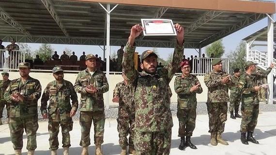 Nhận viên an ninh Afghanistan. Nguồn: menafn.com