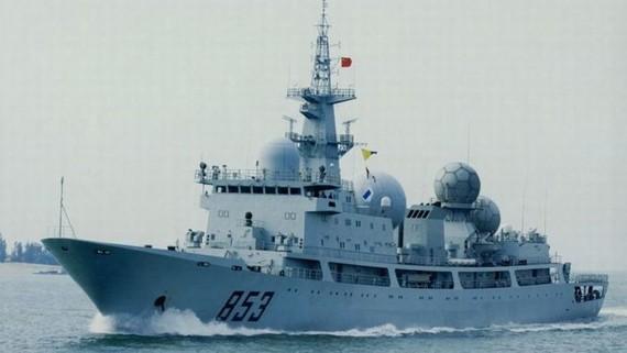 Tàu do thám lớp Dongdiao của Trung Quốc. Ảnh: ABC News