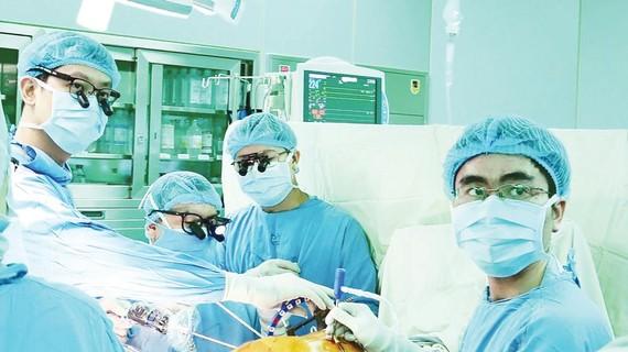 Một ca ghép gan tại Bệnh viện Đại học Y Dược TPHCM