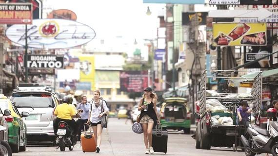 Đường Khao San tại thủ đô Bangkok