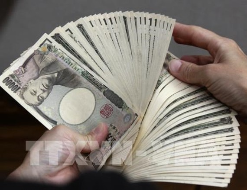 Đồng yen của Nhật Bản. Ảnh: AFP/ TTXVN