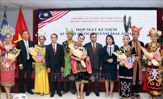 Họp mặt kỷ niệm lần thứ 62 Quốc khánh Malaysia
