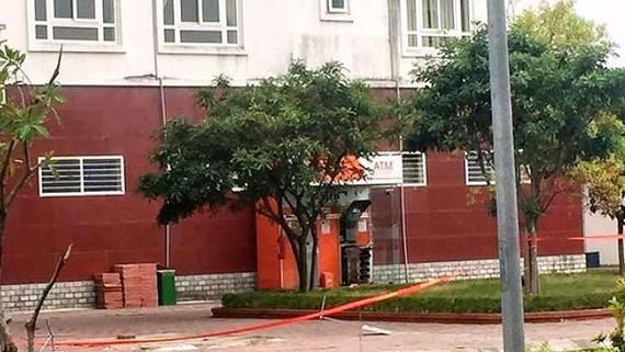 Cây ATM bị đặt chất nổ
