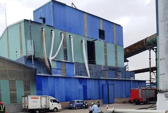 Khu vực nhà máy thép Dragon, nơi xảy ra vụ nổ lớn làm 12 công nhân thương vong