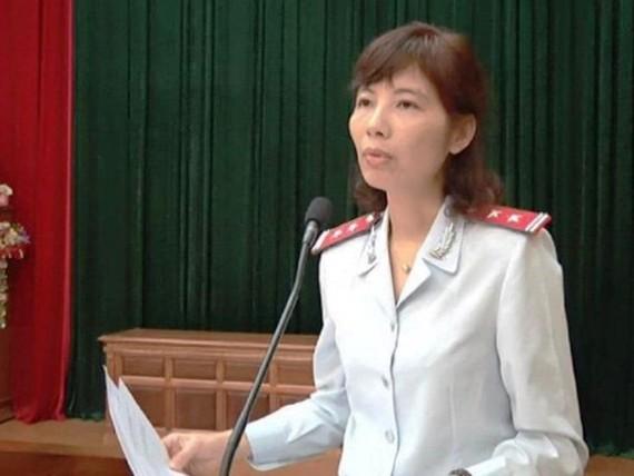 Bị can Nguyễn Thị Kim Anh