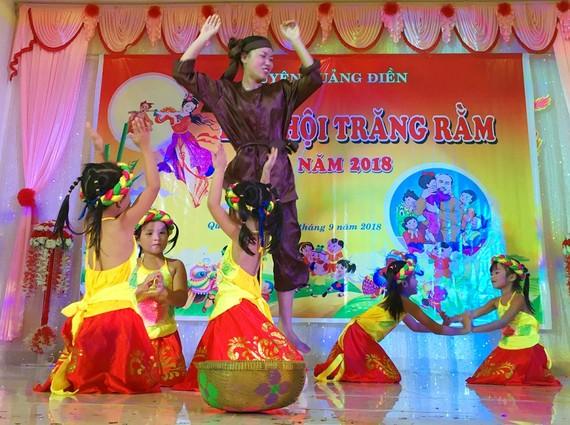 Hơn 500 trẻ tại Thừa Thiên – Huế rộn ràng vui Tết Trung thu