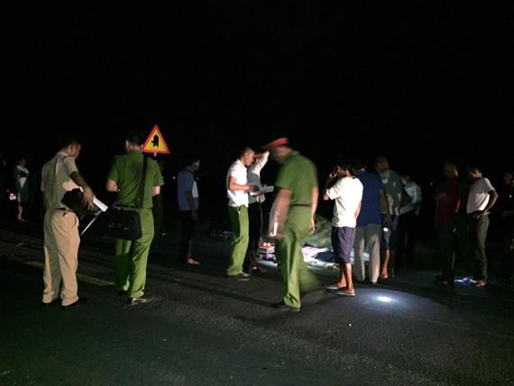 Hiện trường vụ tai nạn khiến 3 em nhỏ bị tử vong