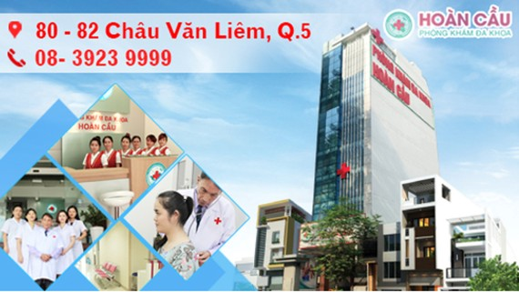 Phòng khám phụ khoa TPHCM-Phòng khám đa khoa Hoàn Cầu