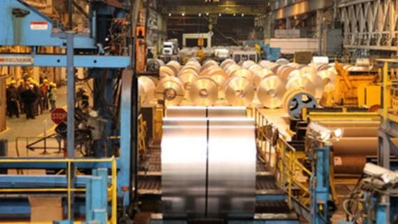 Một nhà máy sản xuất thép của châu Âu