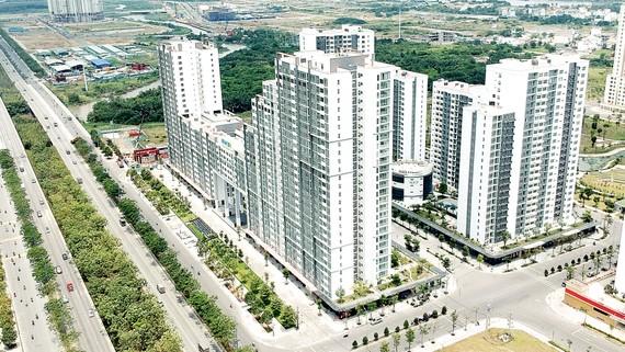 Dự án New City tại đường Mai Chí Thọ, quận 2, TPHCM                                                                                                                    Ảnh: CAO THĂNG