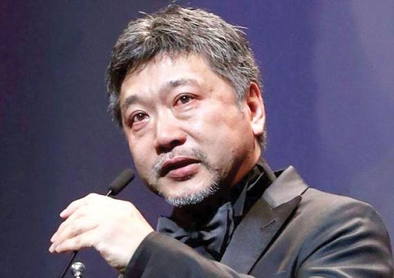 Đạo diễn người Nhật Bản Hirokazu Kore-eda.