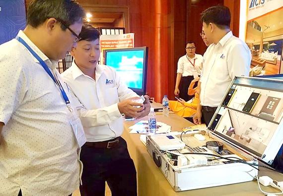 Trung tâm Nghiên cứu và triển khai công nghệ cao TPHCM giới thiệu sản phẩm tại Diễn đàn MEMS 2018