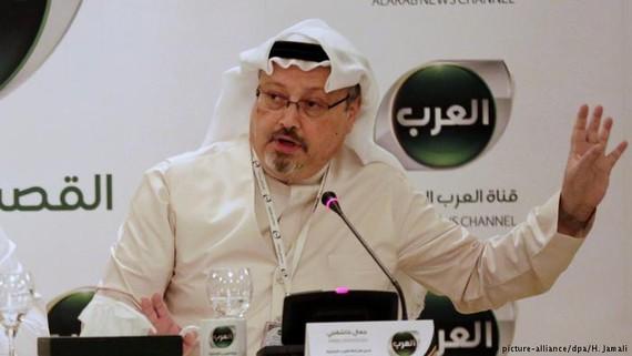 Nhà báo Jamal Khashoggi. Ảnh: AP
