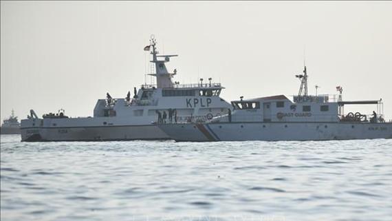 Công tác tìm kiếm máy bay của hãng Lion Air rơi ở vùng biển Karawang của Indoneisa đang được tiến hành tích cực. Nguồn: TTXVN