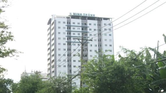 Dự án chung cư Minh Thành (quận 7) - nơi từng xảy ra  khiếu nại của người dân về việc cấp GCN