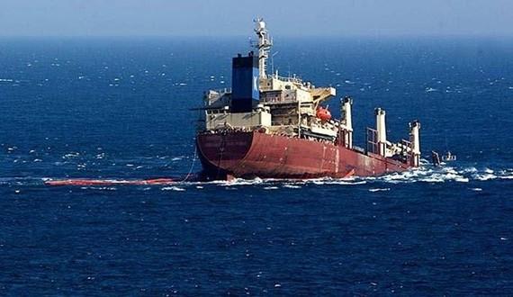 Tàu KM Multi Prima One bị chìm ngoài khơi đảo Bali. (Nguồn: panrita.news)