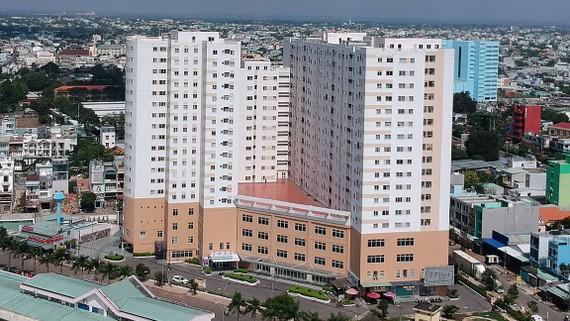 Nhà ở xã hội HQC Hóc Môn          Ảnh: CAO THĂNG