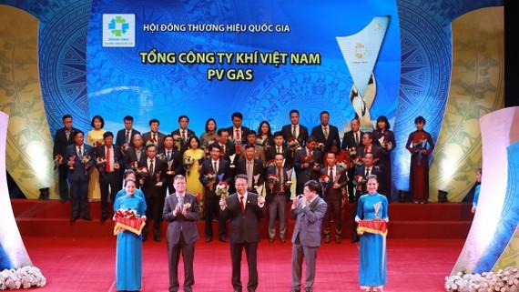 PV GAS được vinh danh tại Thương hiệu Quốc gia 2018