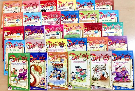 Bộ truyện Thần đồng đất Việt hiện đã đi đến tập thứ 225, được xem là bộ truyện tranh thành công nhất của Việt Nam