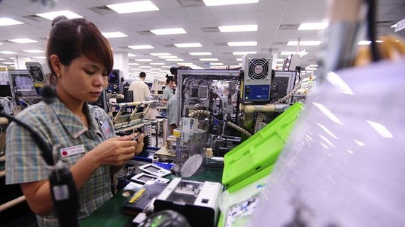 Điện thoại và linh kiện là mặt hàng có mức tăng trưởng cao nhất, đạt 50 tỷ USD