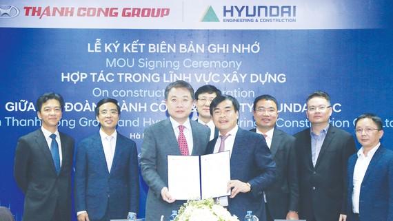 Tập đoàn Thành Công: Hợp tác cùng Hyundai E&C  trong lĩnh vực xây dựng tại Việt Nam