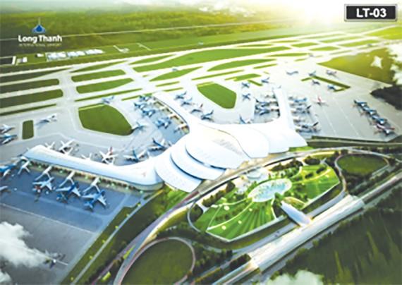 Phối cảnh sân bay Long Thành