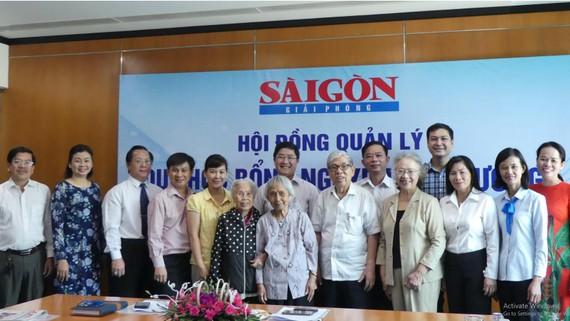 Hội đồng Quản lý Quỹ học bổng Nguyễn Văn Hưởng năm 2019